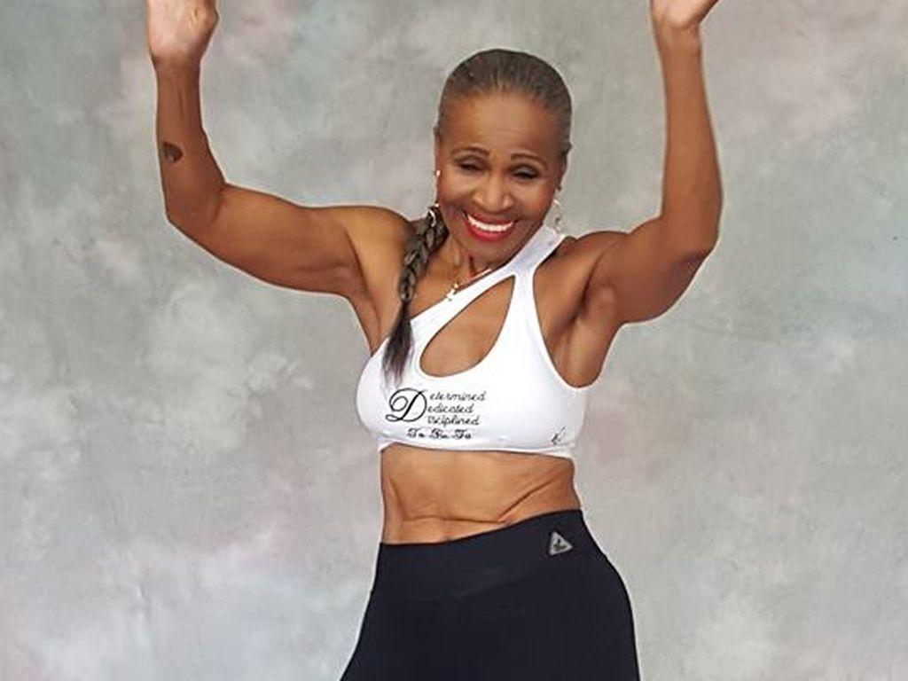 Ernestine Shepherd, mit 80 Jahren die älteste Bodybuilderin der Welt