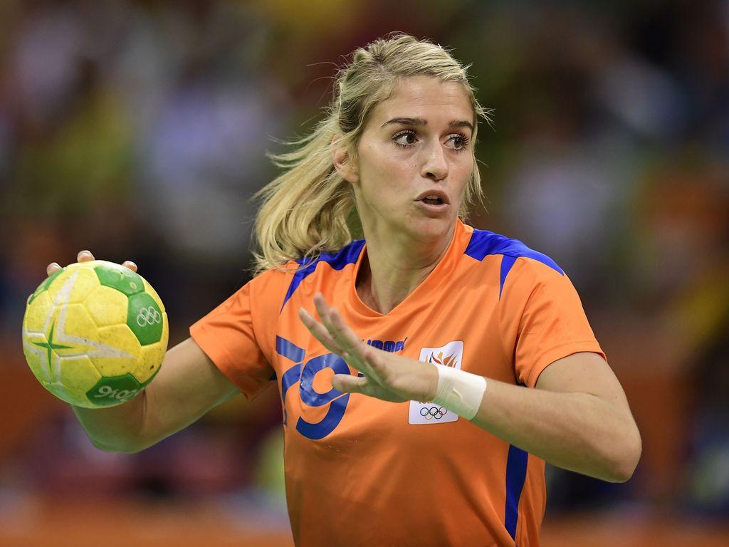 Estavana Polman beim Halbfinal-Spiel gegen Frankreich bei Olympia in Rio 2016