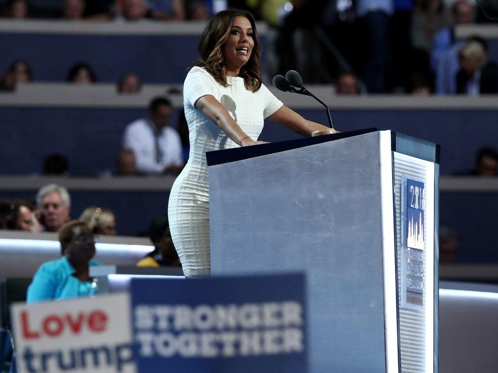 Eva Longoria beim Parteitag der Demokratischen Partei in Philadelphia
