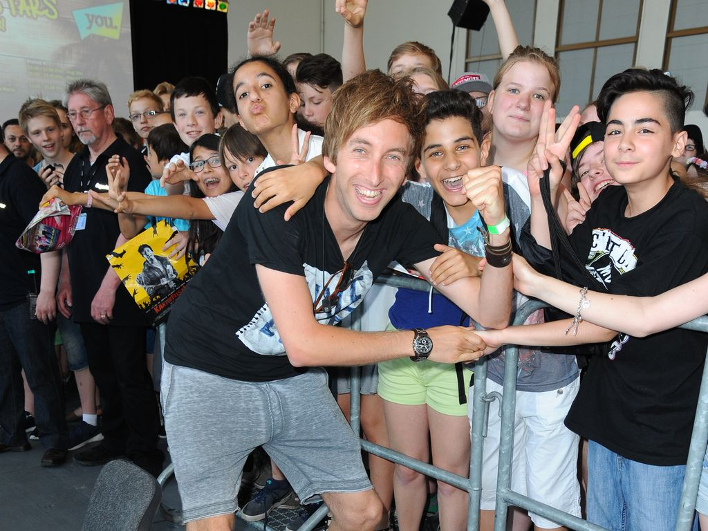 Freshtorge mit Fans bei der YOU-Messe in Berlin
