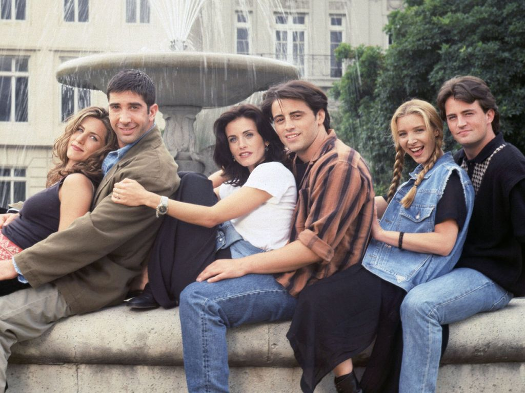 Friends: Jennifer Aniston, David Schwimmer, Courteney Cox, Matt Leblanc, Lisa Kudrow & Matthew Perry