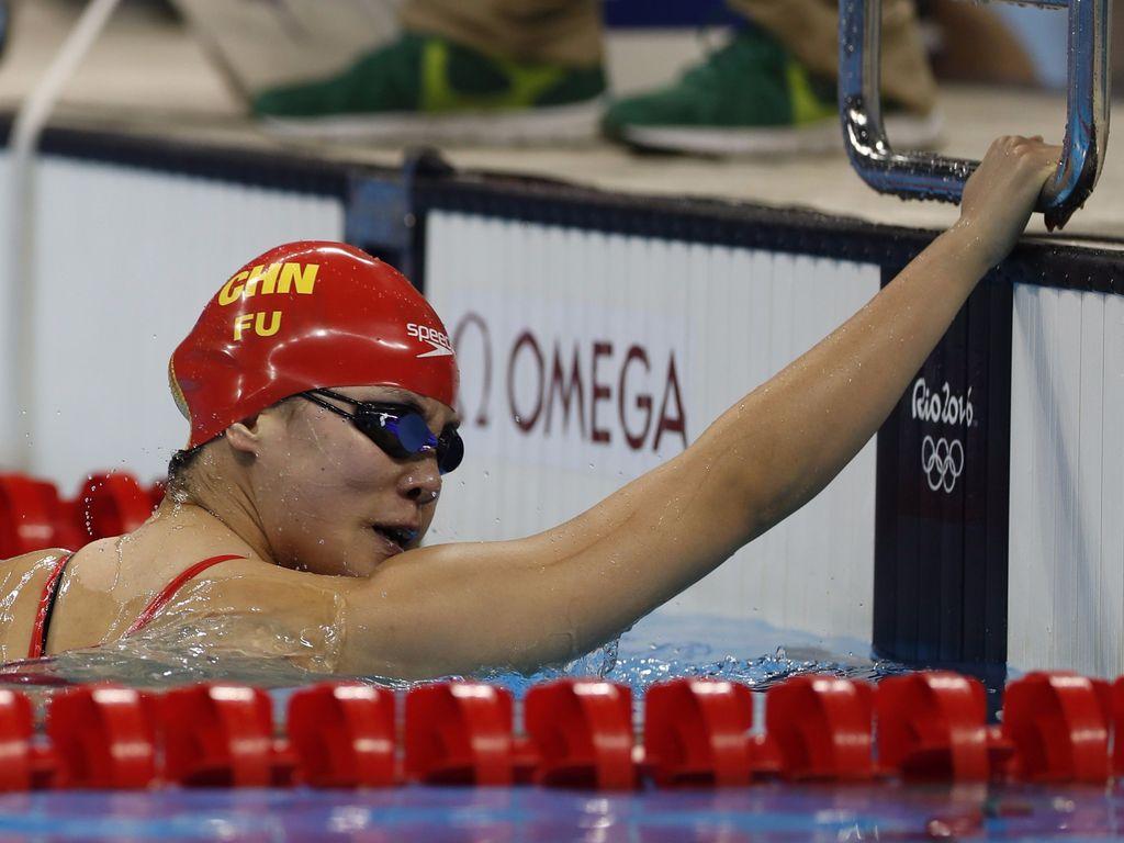 Fu Yuanhui bei Olympia 2016