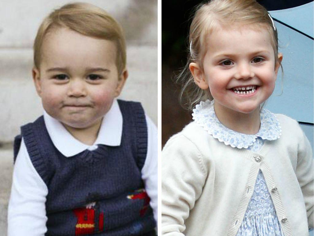 Prinzessin Estelle von Schweden und Prinz George