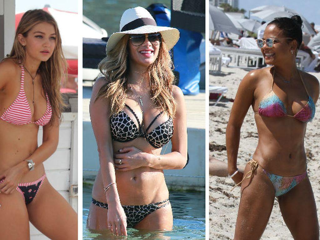 Gigi Hadid, Nicole Scherzinger und Christina Milian