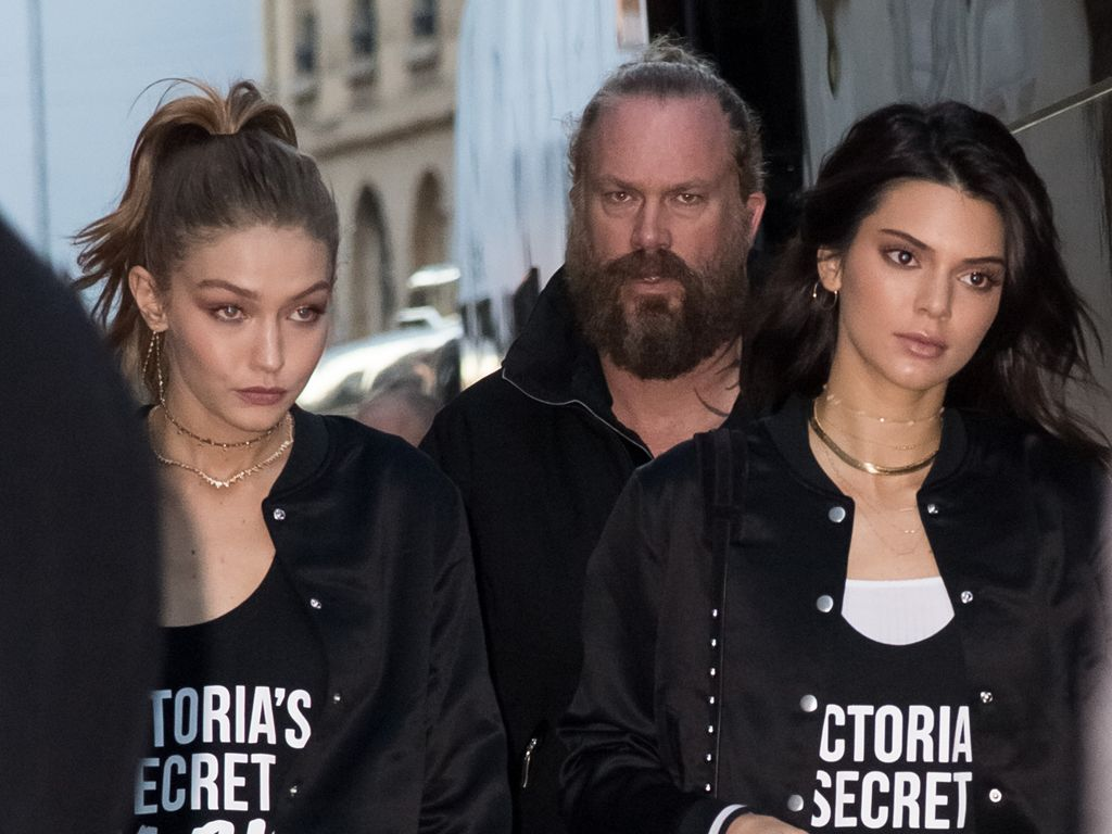 Gigi Hadid und Kendall Jenner im November 2016 in Paris