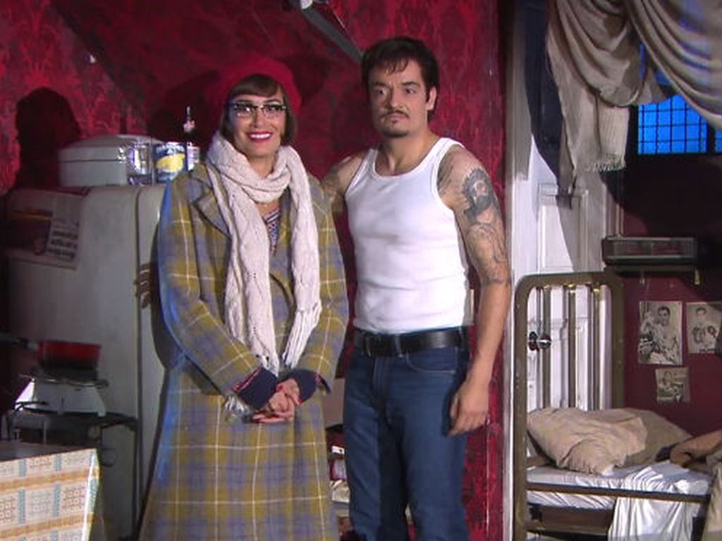 Giovanni Zarrella und Jana Ina spielen Rocky und Adrian