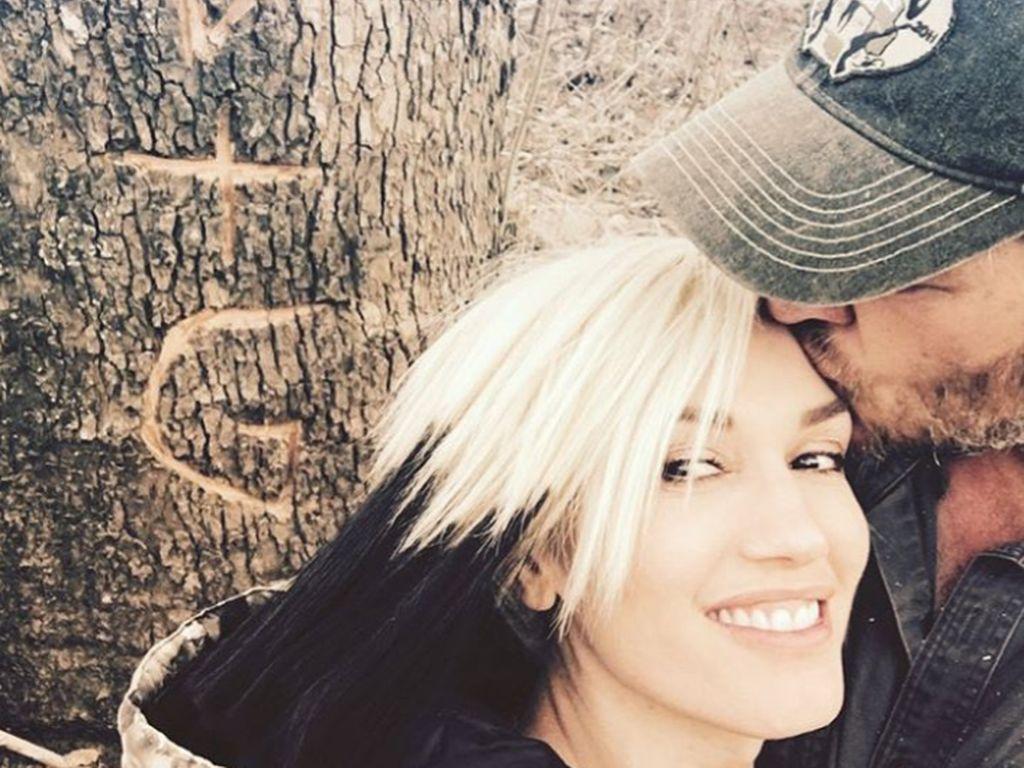 Gwen Stefani und Blake Shelton