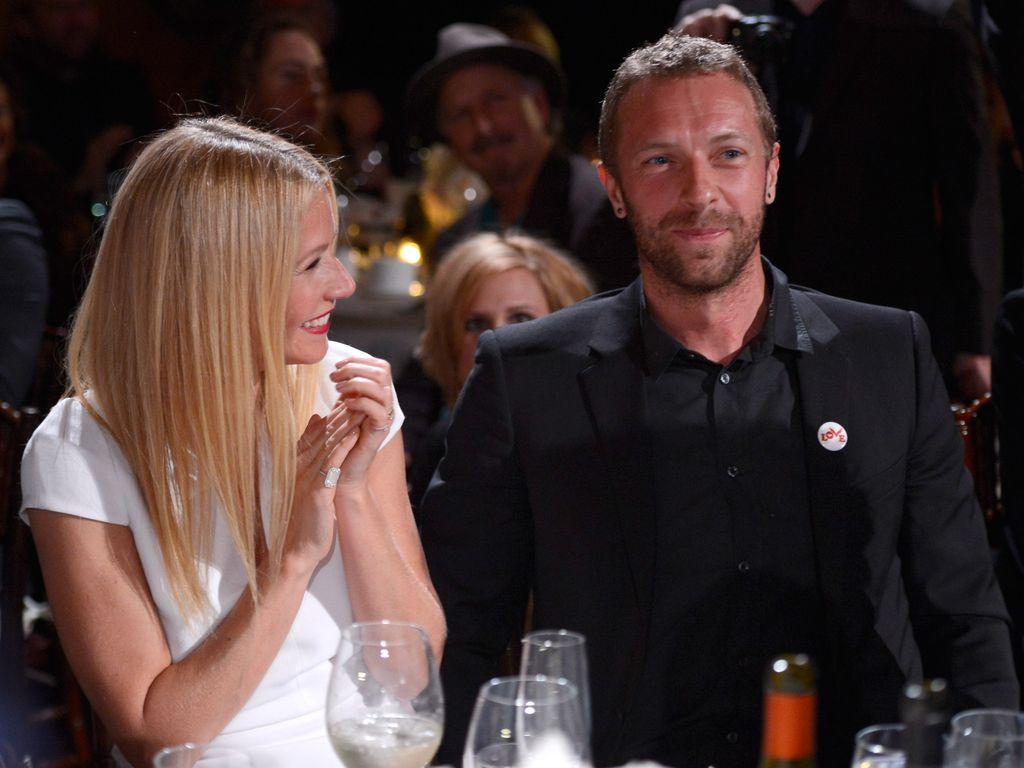 Gwyneth Paltrow und Chris Martin bei einer Veranstaltung