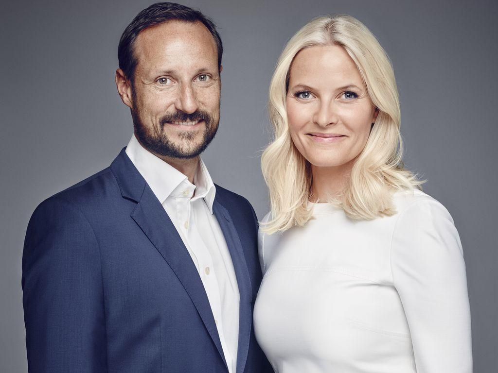 Haakon und Mette-Marit im Januar 2016