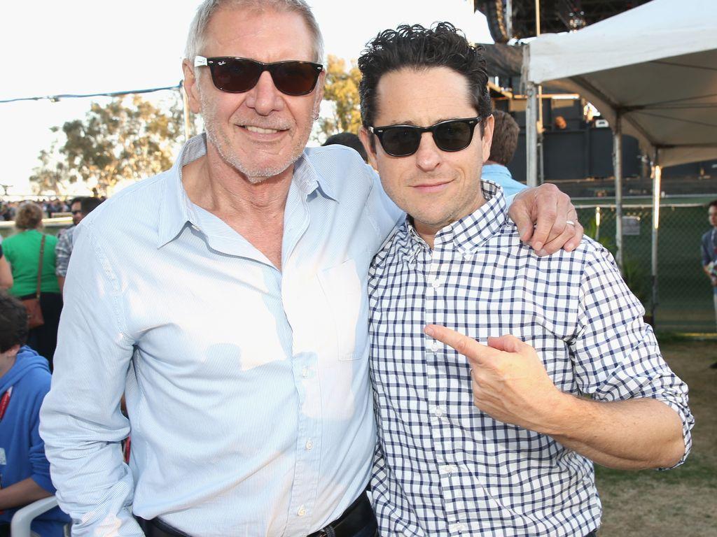 Harrison Ford und J. J. Abrams