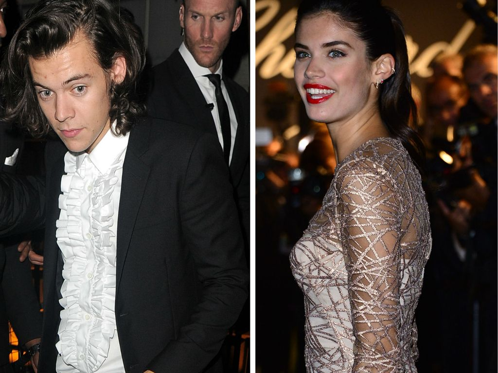 Harry Styles und Sara Sampaio