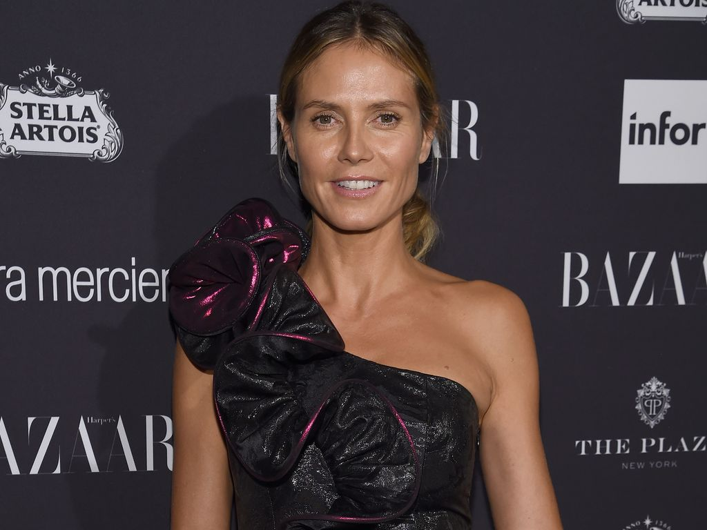 Heidi Klum bei der New Yorker Fashion Week im September 2016