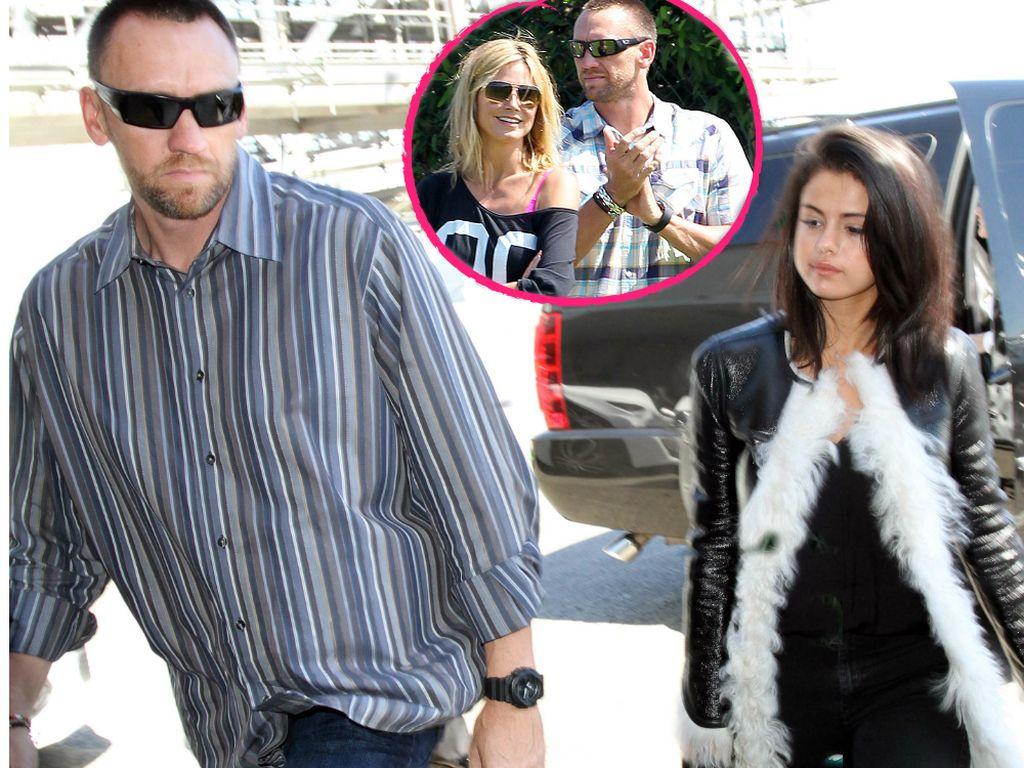 Selena Gomez, Heidi Klum und Martin Kirsten
