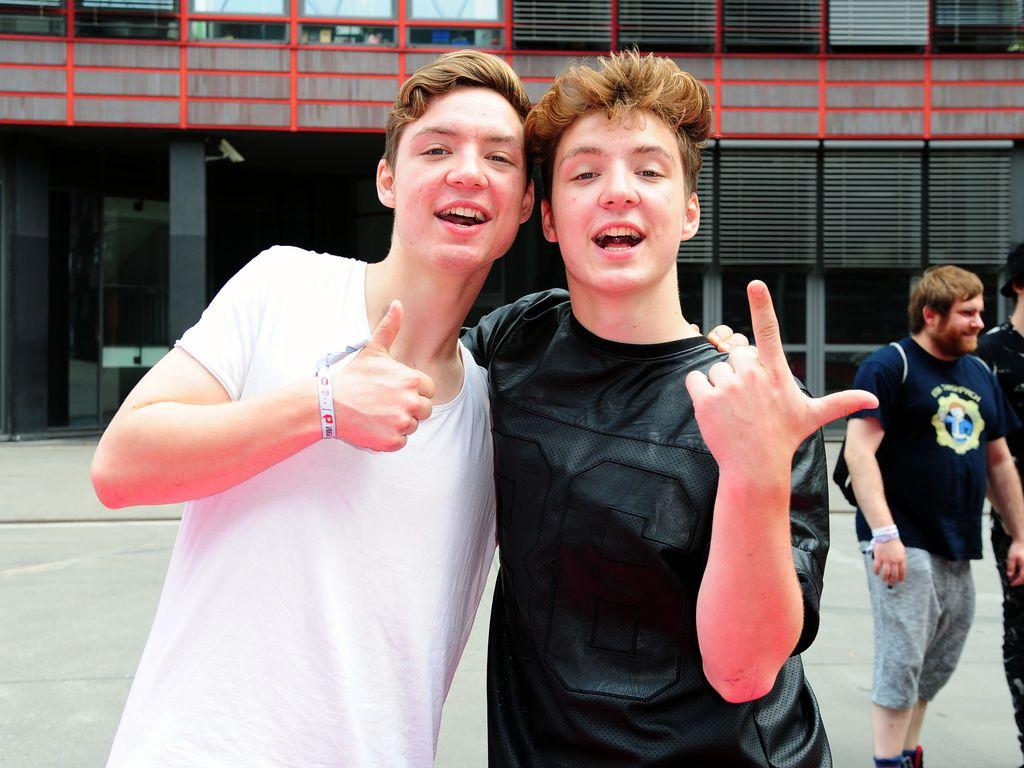 Heiko und Roman Lochmann aka Die Lochis bei den VideoDays