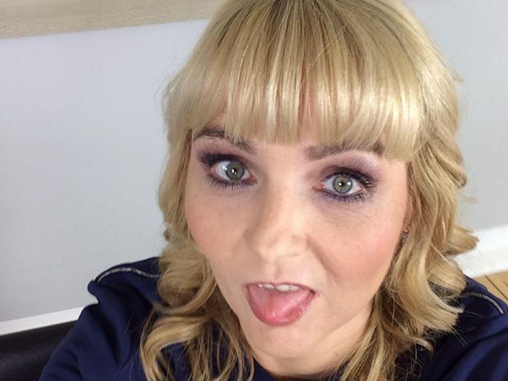 Helena Fürst auf einem Selfie bei Facebook im Juli 2016