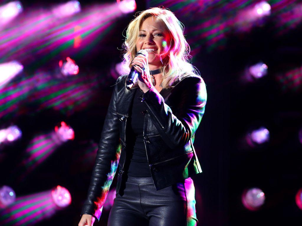 Helene Fischer bei der Eurovision Song Contest Party 2017