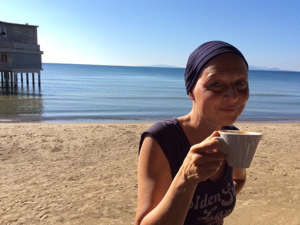 Hendrikje Fitz im Toskana-Urlaub