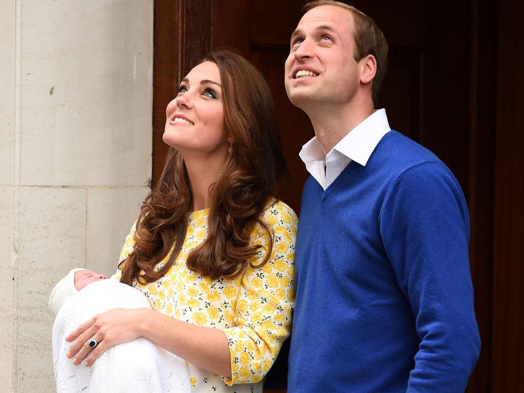 Herzogin Kate, Prinz William und Prinzessin Charlotte