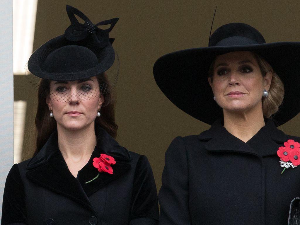 Herzogin Kate und Königin Maxima