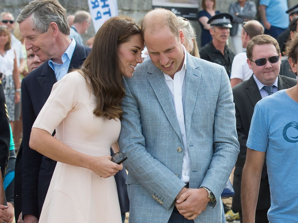 Herzogin Kate und Prinz William in Cornwall
