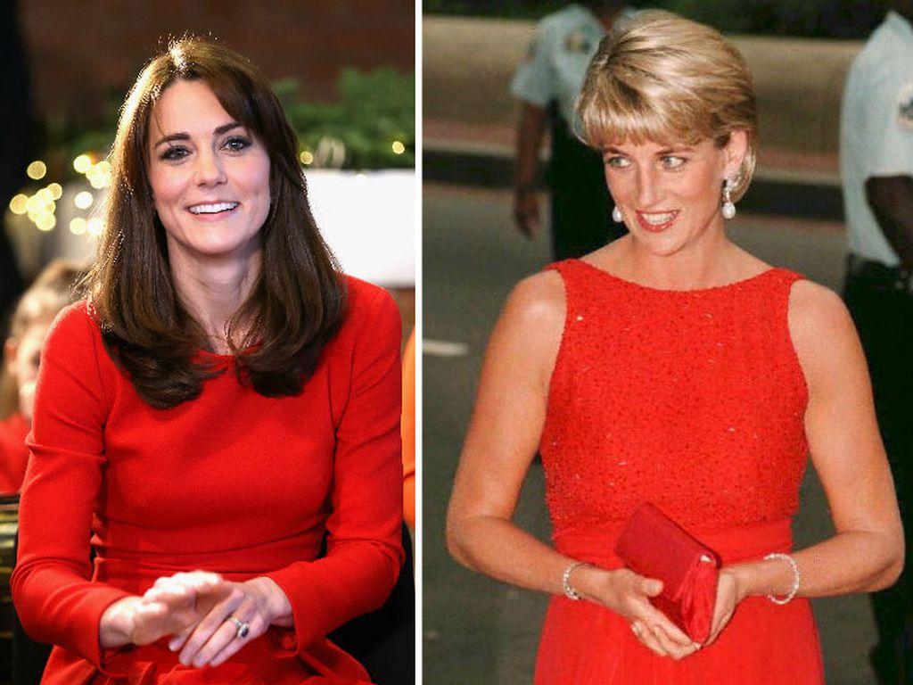 Herzogin Kate und Prinzessin Diana