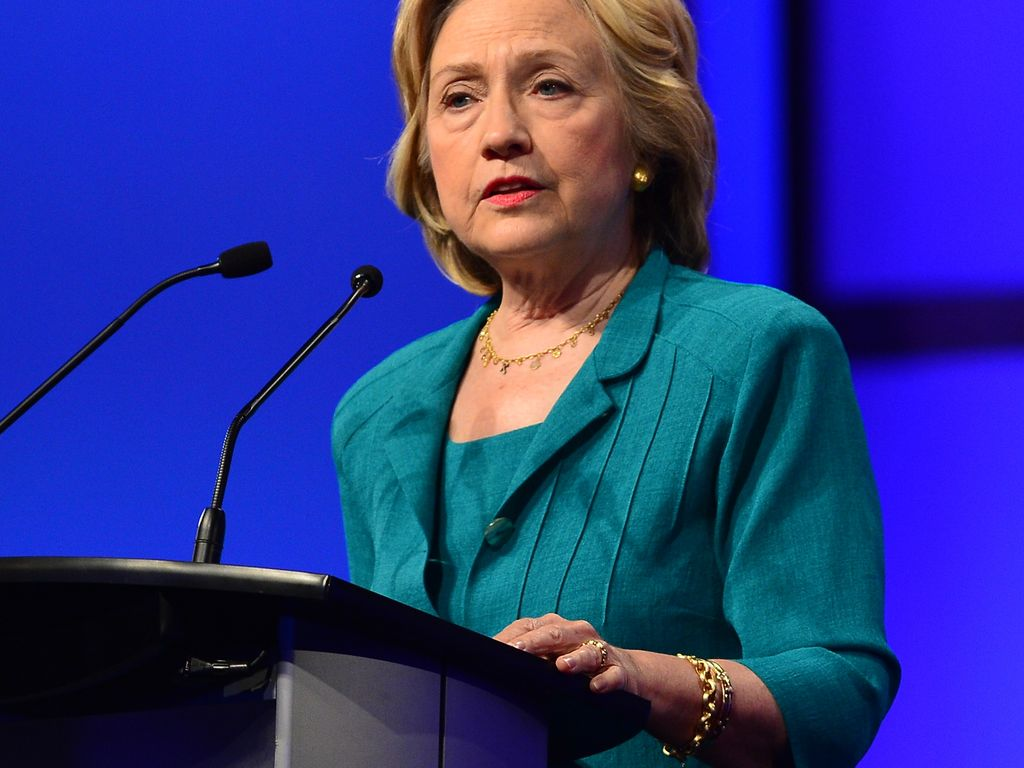 Hillary Clinton, US-Politikerin