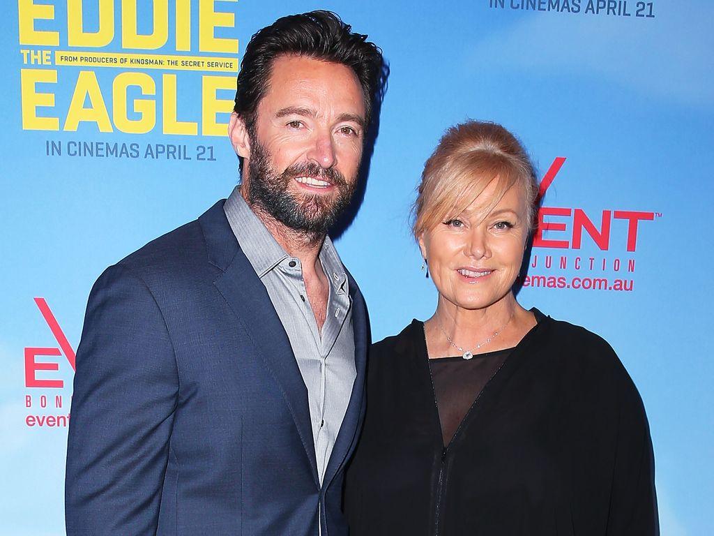 Hugh Jackman mit seiner Frau