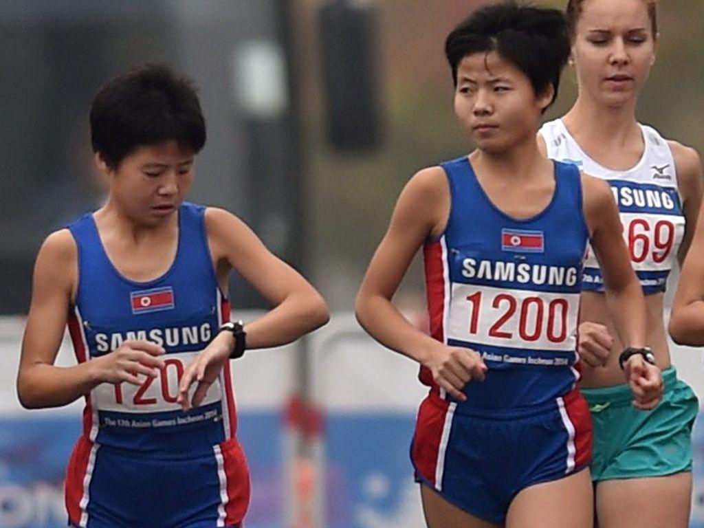 Hye-Song und Yhe-Gong Kim, Nordkoreanische Olympionikinnen