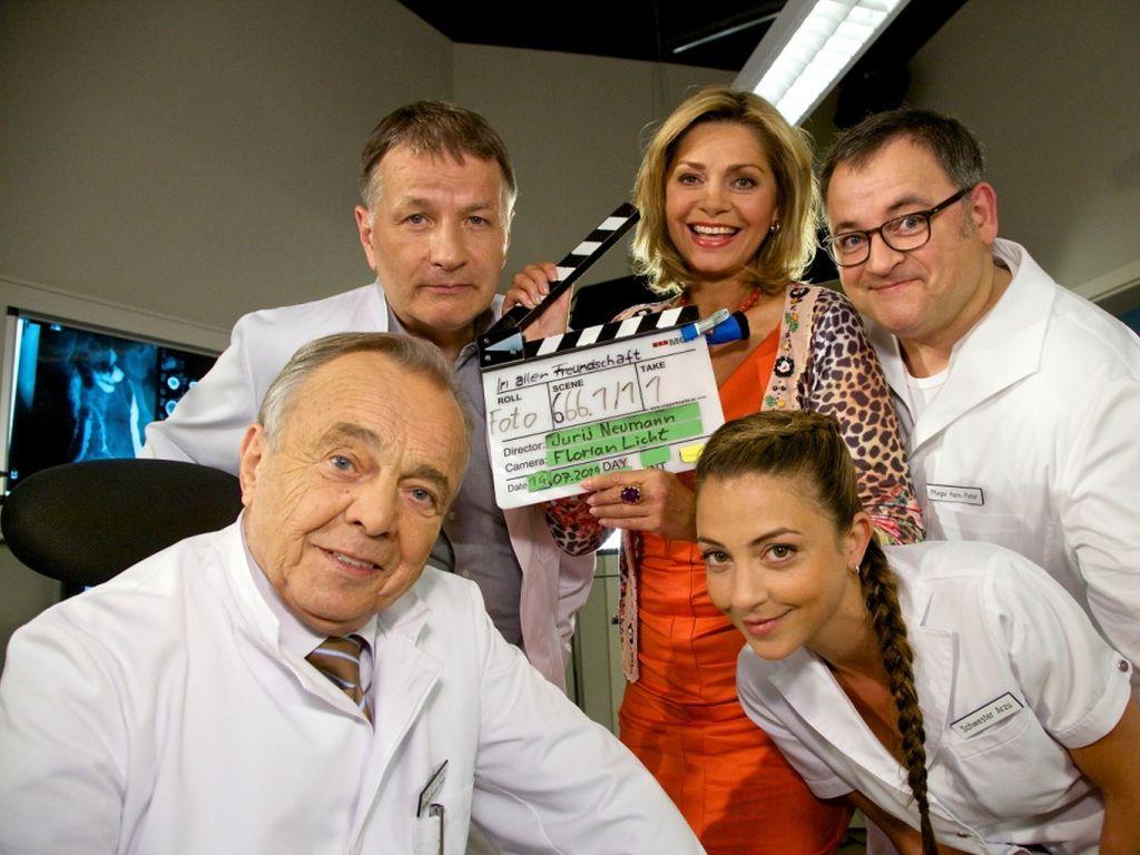 Maren Gilzer, Dieter Bellmann, Thomas Rühmann und Arzu Bazman