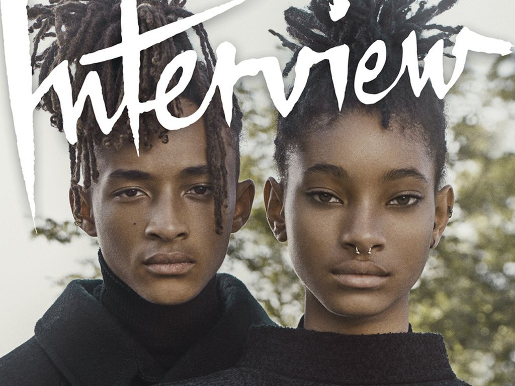 Jaden und Willow Smith auf dem September-Cover des Interview Magazines
