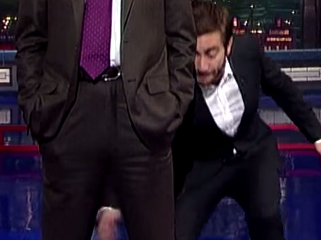 Jake Gyllenhaal und David Letterman