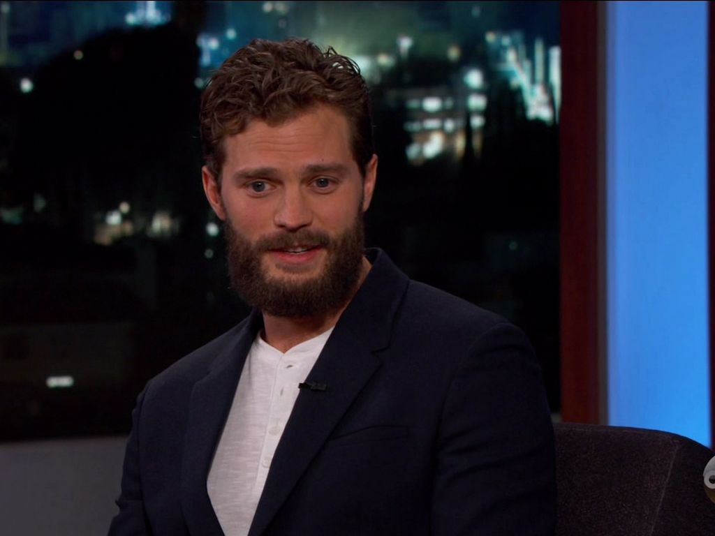 Jamie Dornan zu Gast bei Jimmy Kimmel