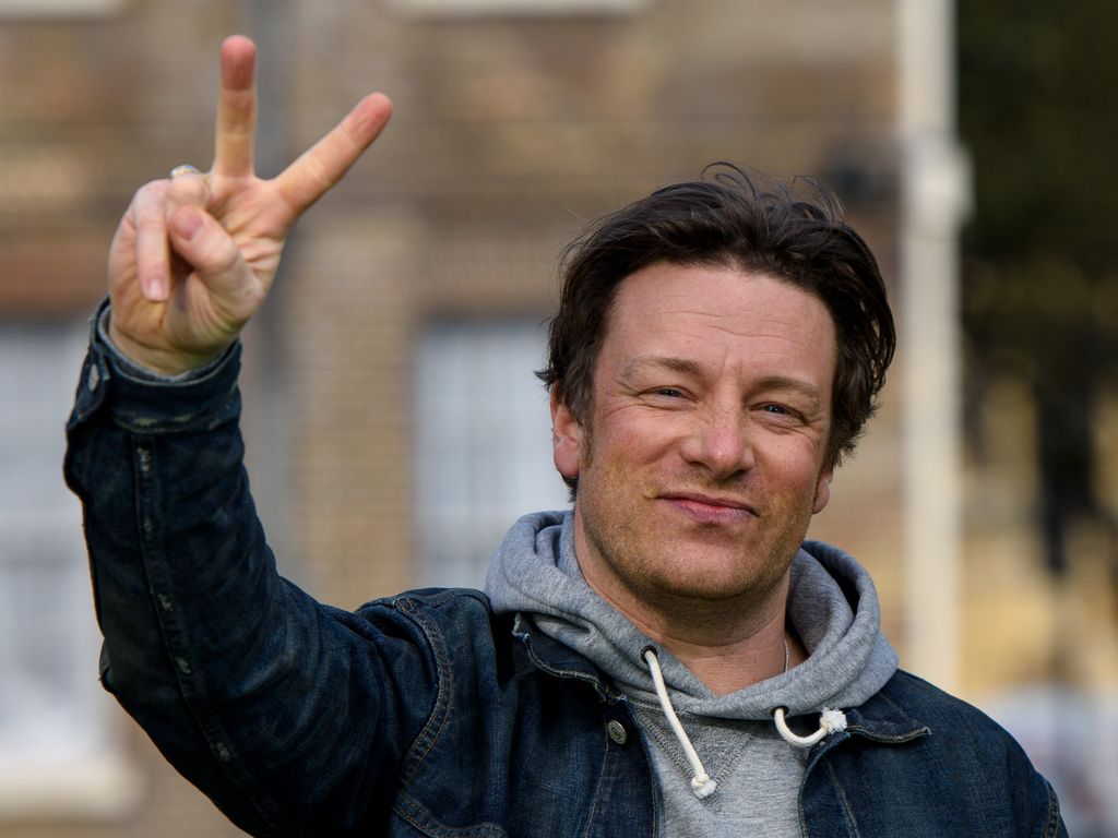 Jamie Oliver in Westminster