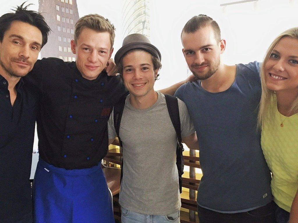 Philipp Christopher, Eric Stehfest, Jascha Rust und Vincent Krüger