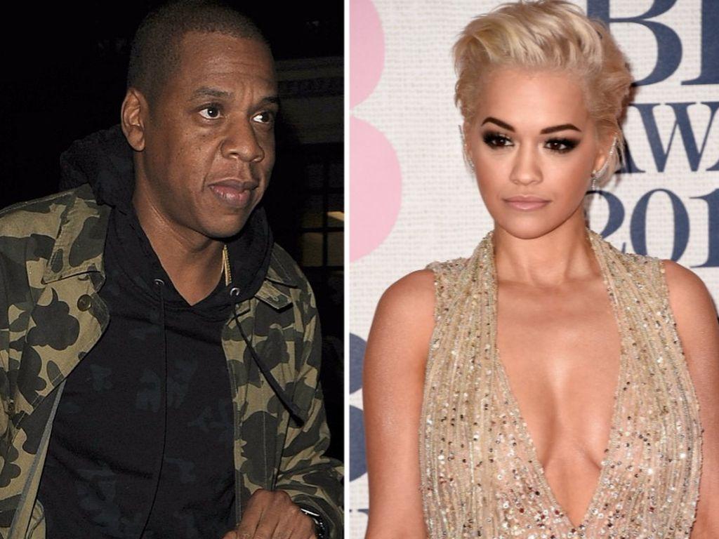 Jay-Z und Rita Ora