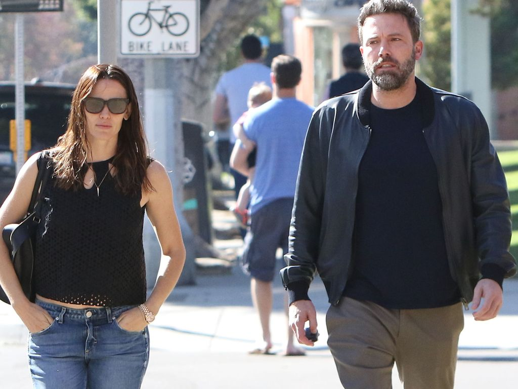 Jennifer Garner und Ben Affleck in Santa Monica