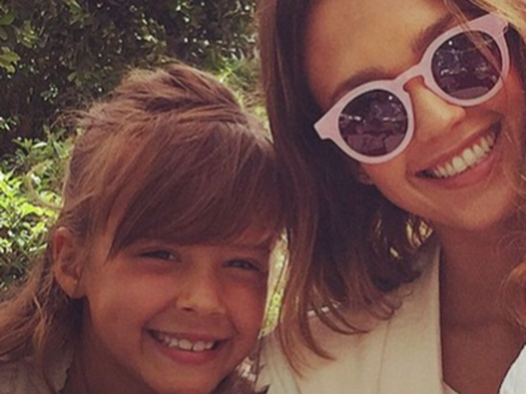 Jessica Alba und Honor Marie Warren