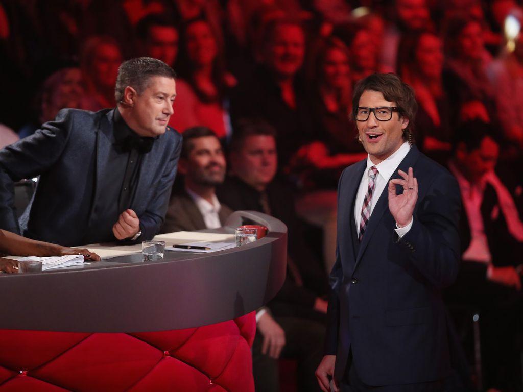 """Joachim Llambi und Daniel Hartwich bei einer """"Let's Dance""""-Liveshow"""