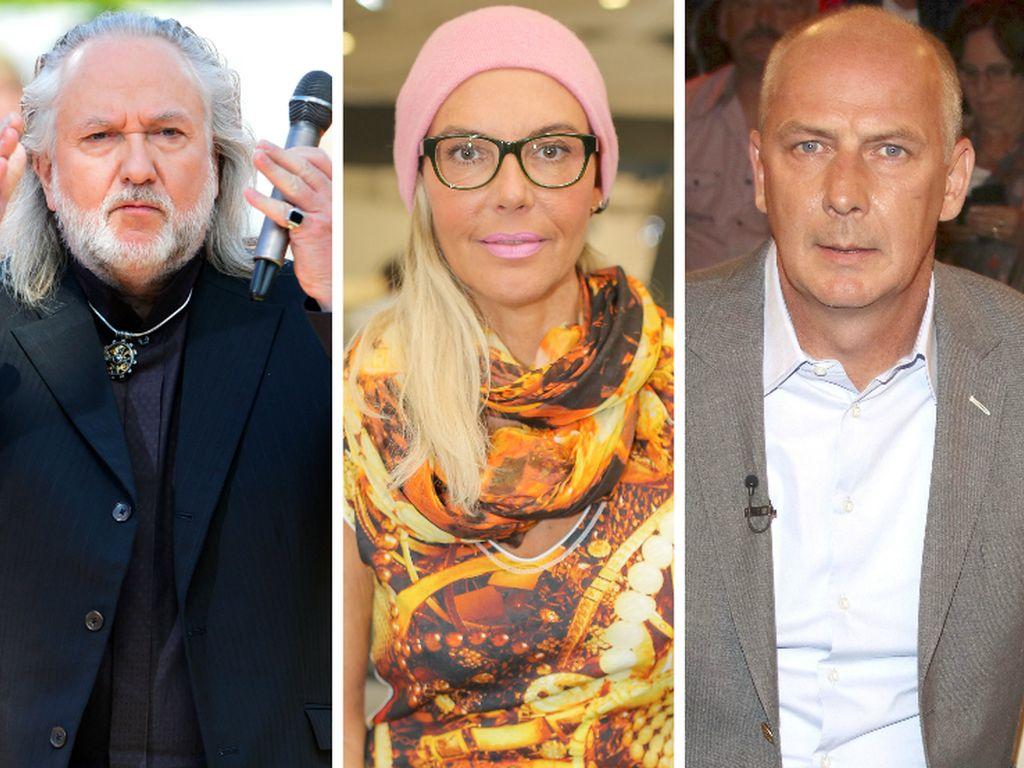 Joachim Witt, Natascha Ochsenknecht und Mario Basler