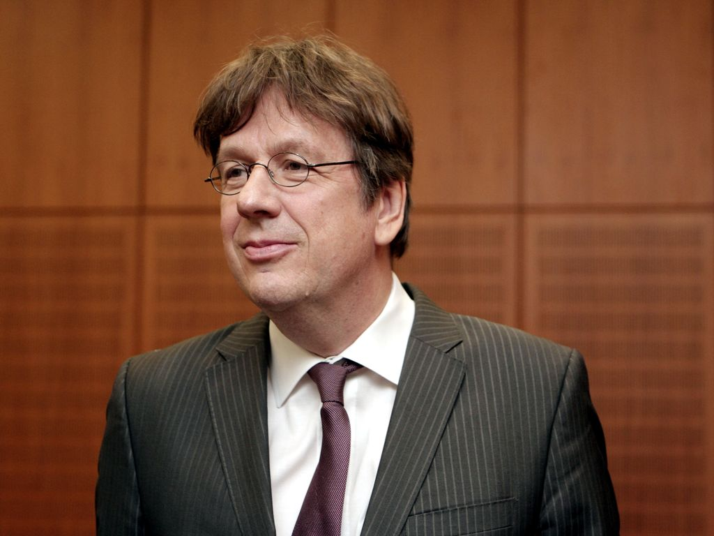 Jörg Kachelmann vor dem Landgericht Frankfurt im Jahr 2012