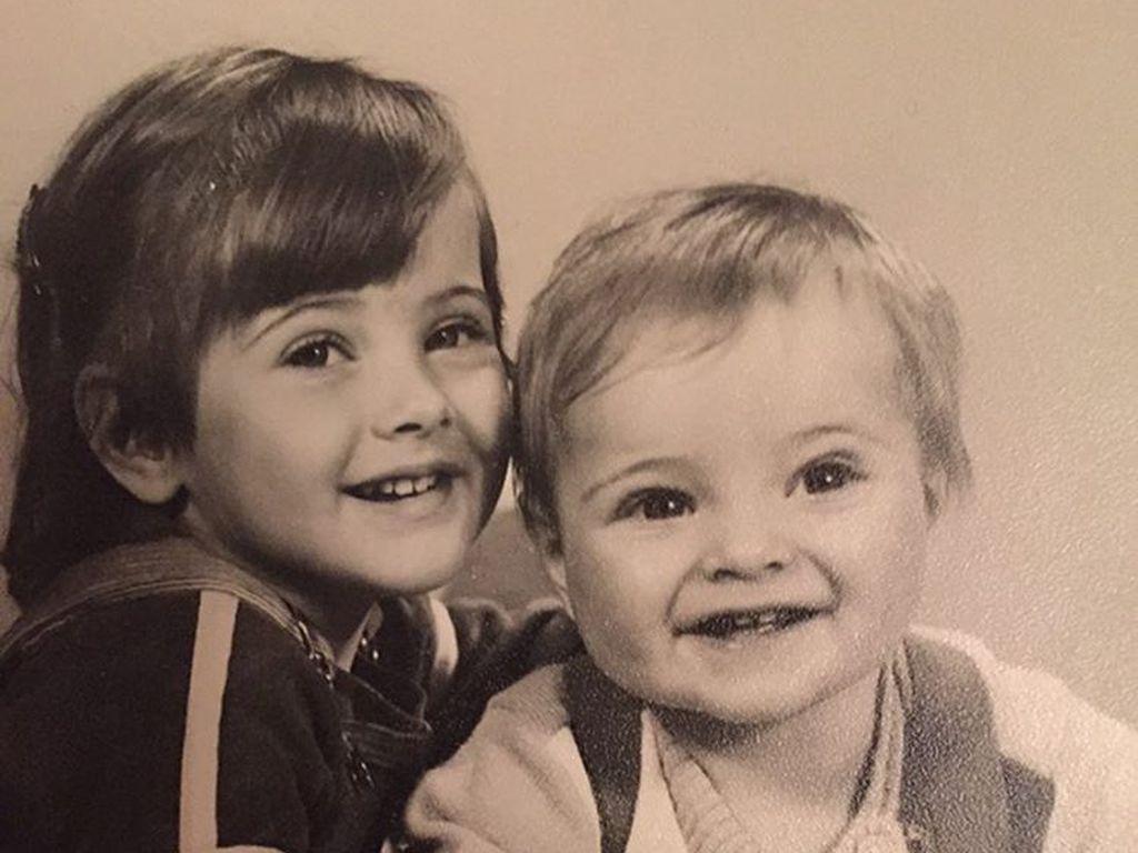 Jörn Schlönvoigt mit seiner Schwester Jessy