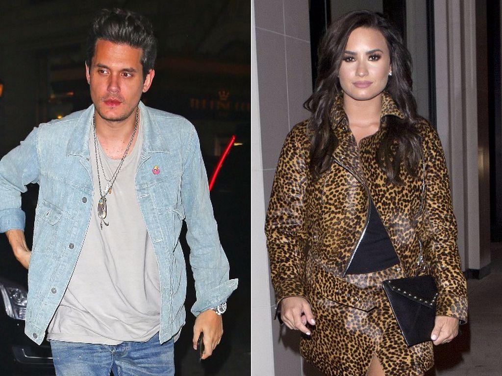 John Mayer und Demi Lovato