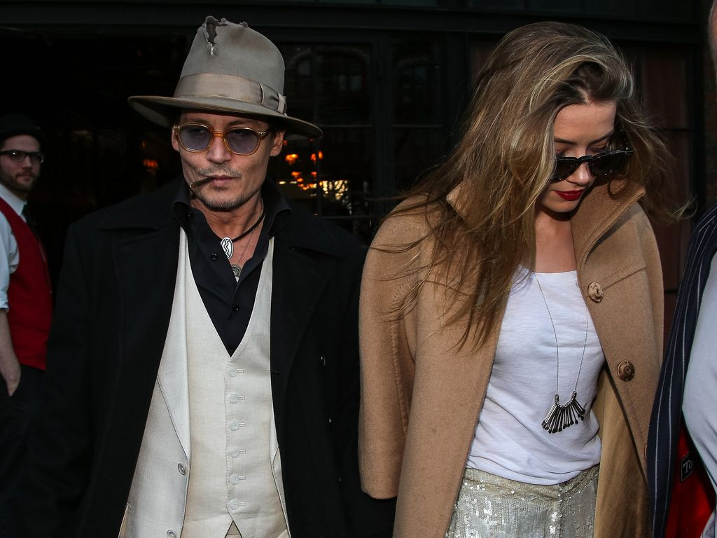Amber Heard und Johnny Depp
