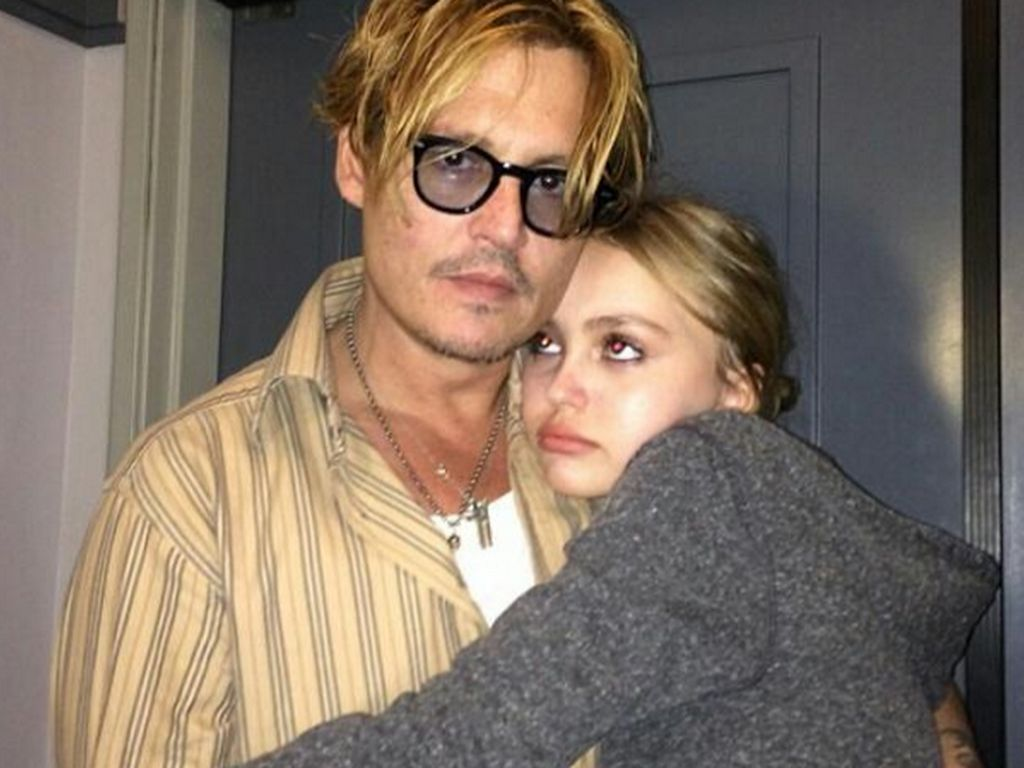 Johnny Depp und Lily-Rose Depp