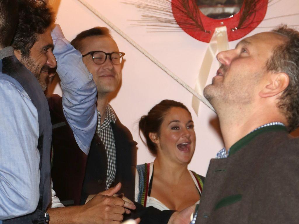 Joseph Gordon-Levitt und Shailene Woodley beim Oktoberfest in München 2016