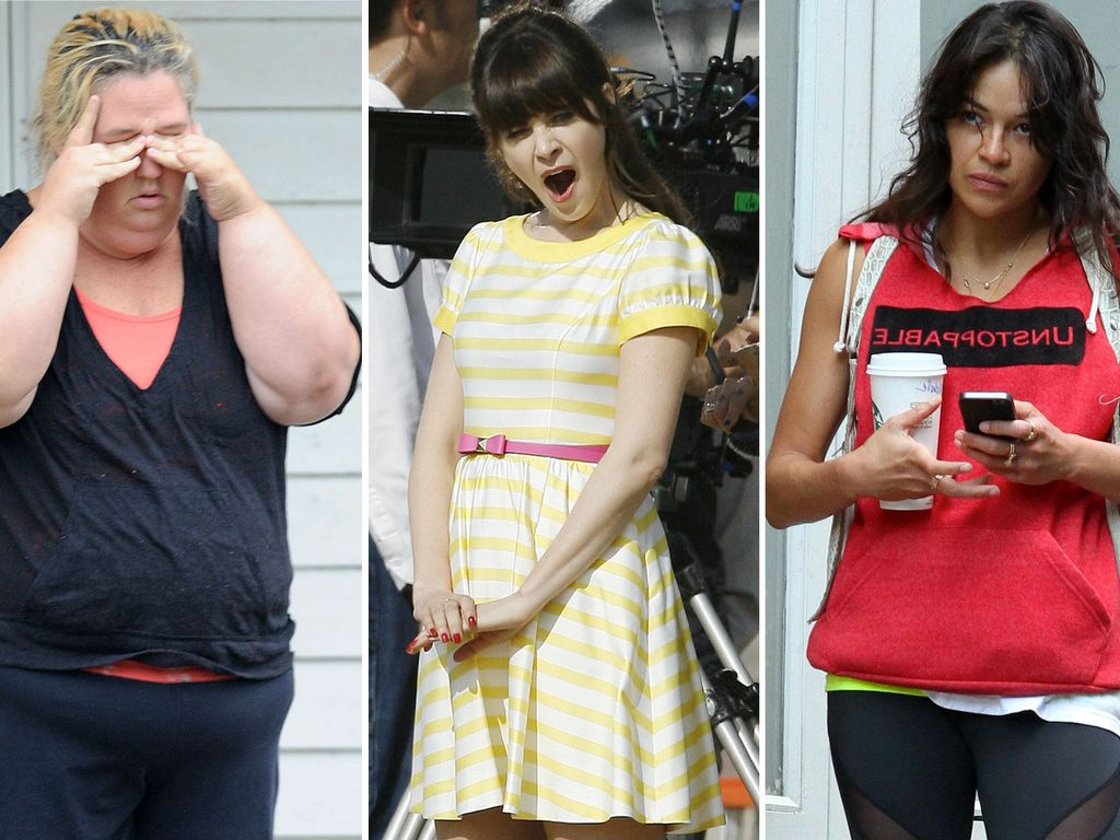 Michelle Rodriguez, Zooey Deschanel und June Shannon