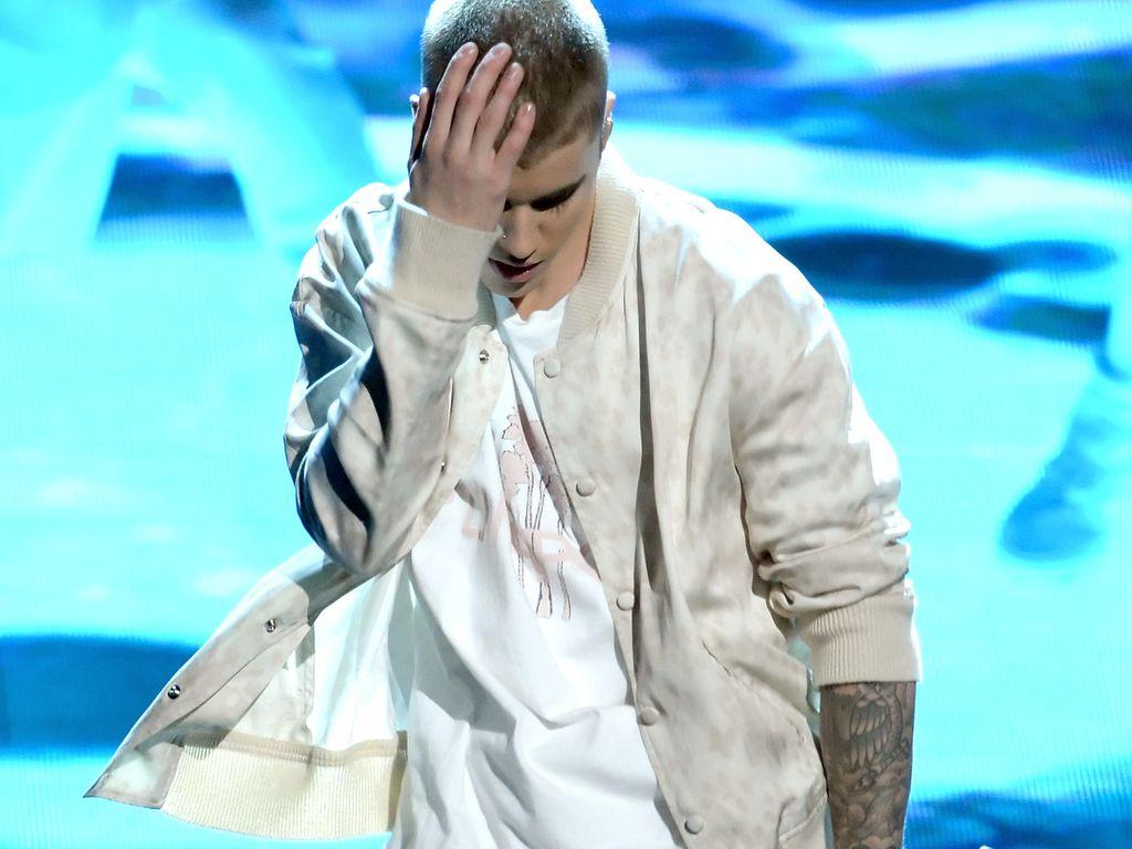 Justin Bieber auf der Bühne bei den Billboard Music Awards 2016