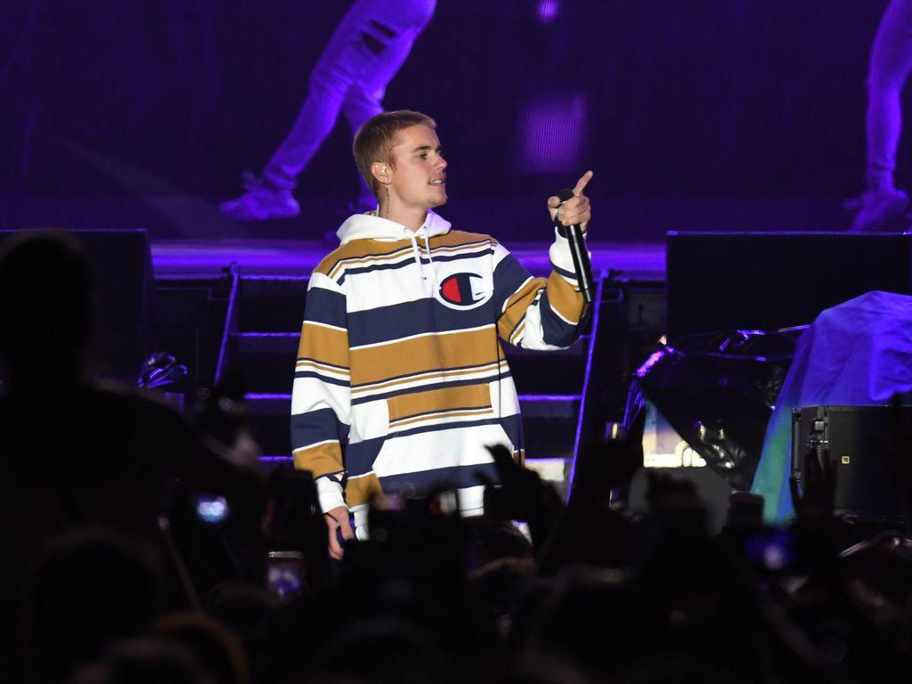 """Justin Bieber auf dem """"V Festival"""" in England, 2016"""