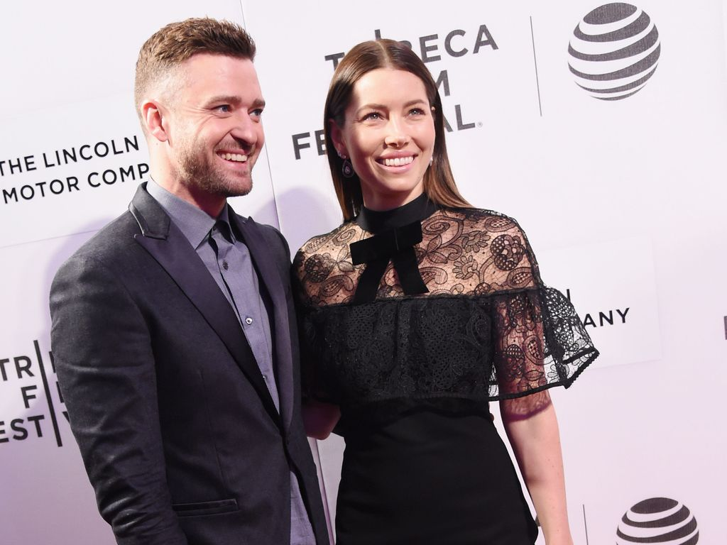 Justin Timberlake und Jessica Biel bei der The Devil and the Deep Blue Sea Premiere