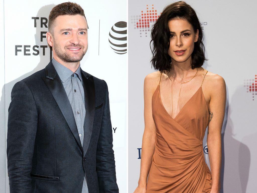 Justin Timberlake und Lena Meyer-Landrut